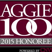 Aggie 100 logo