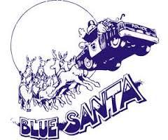 Blue Santa image