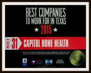 CHH Best Companies 2015 Award